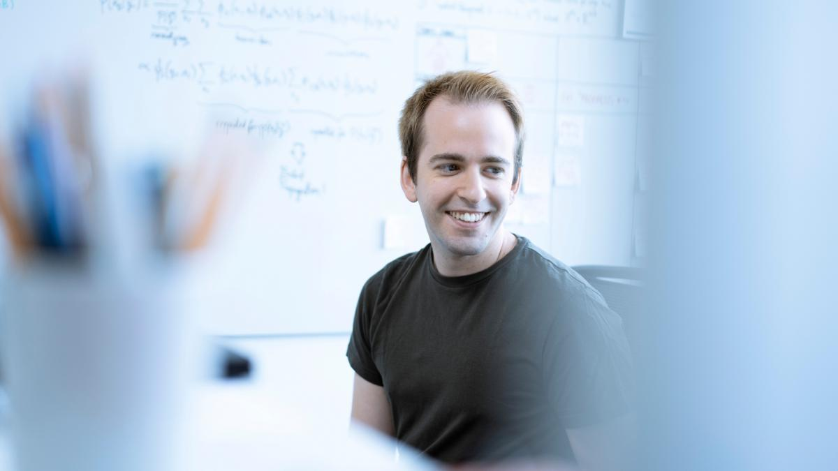 Albert Marin ist Data Scientist bei viastore