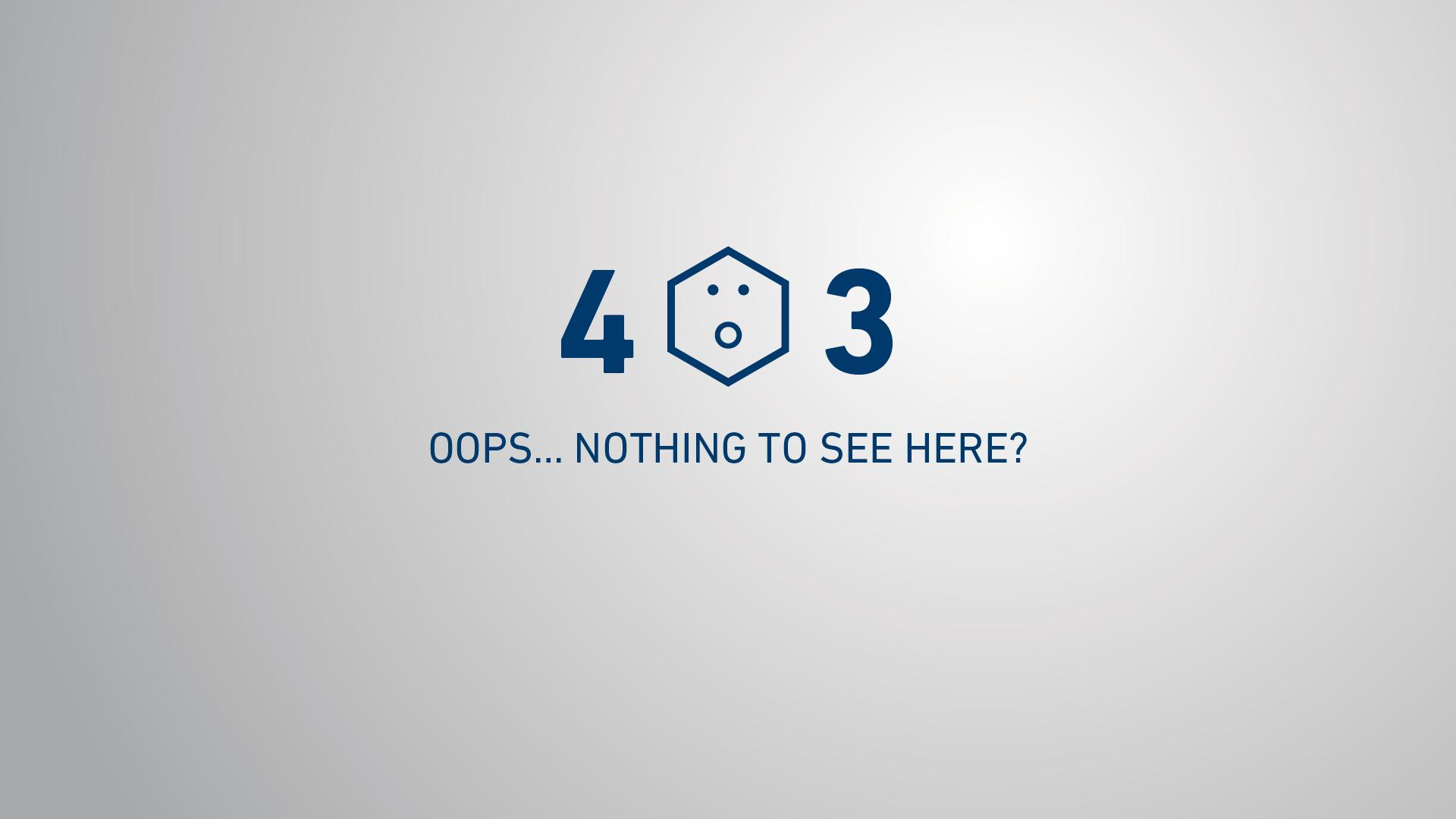 Graphic error page 403 viastore