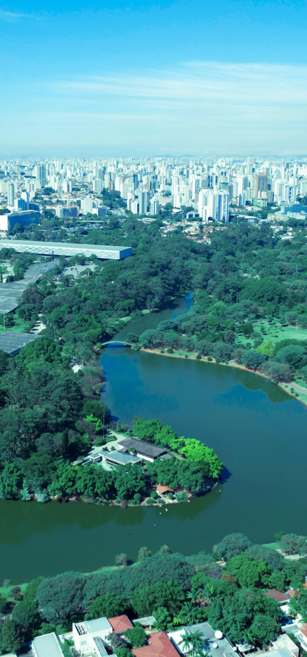 Largest and oldest city park in São Paulo: Parque do Ibirapuera