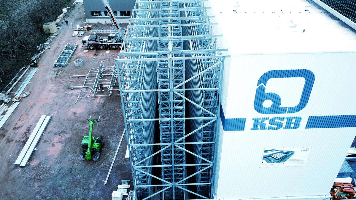 viastore reference customer KSB, Manufacturing Industry