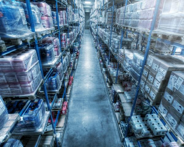 viastore pallett storage with warehouse management software viadat from viastore, Chemical Industry