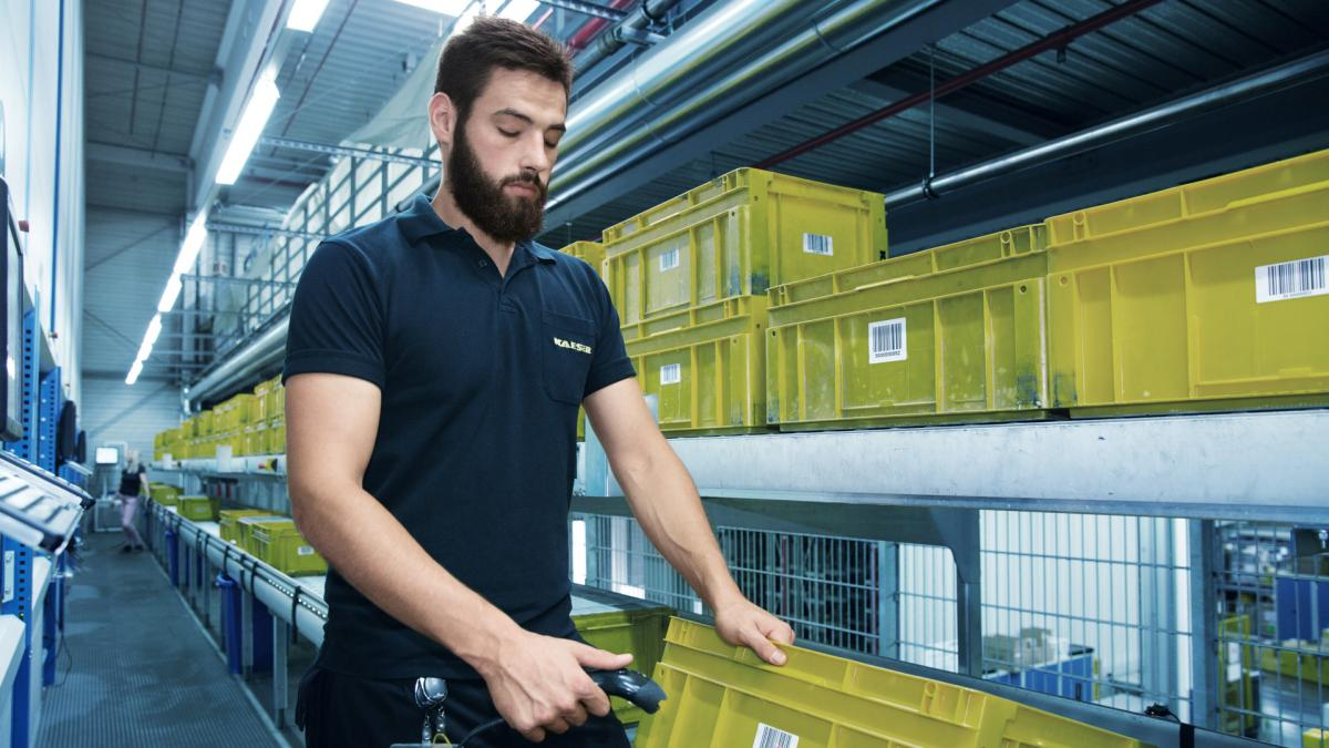 viastore warehouse systems with SAP EWM at Kaeser, Manufacturing Industry