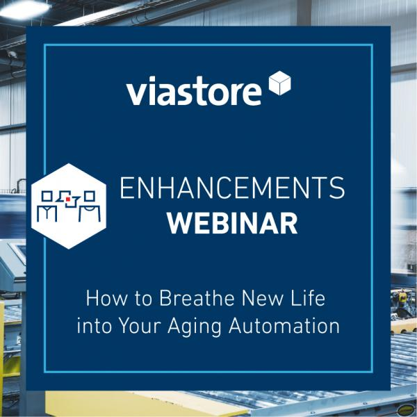 Logo viastore US Webinar Enhancement, Aging Automation